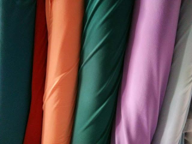 Jenis kain untuk gamis dan gambarnya