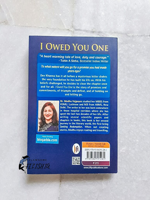 Book Review- I Owed You One