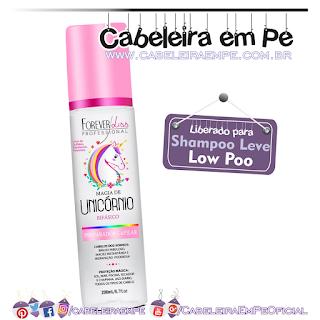 Preparador Capilar Bifásico Magia de Unicórnio - Forever Liss (Low Poo)