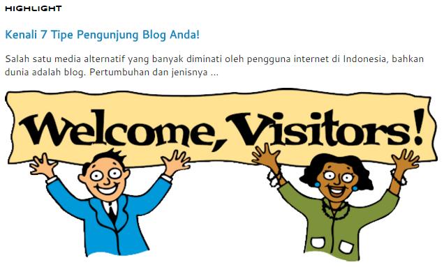 Blogspot nampaknya terus melaksanakan pembenahan pada sistemnya Cara Membuat Highlight Postingan di Blogspot