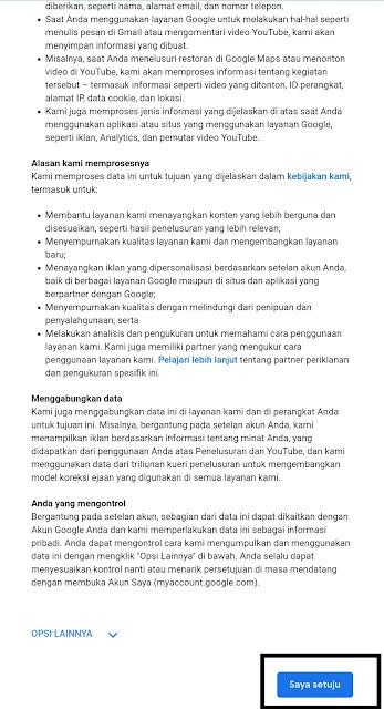 Buat akun Google