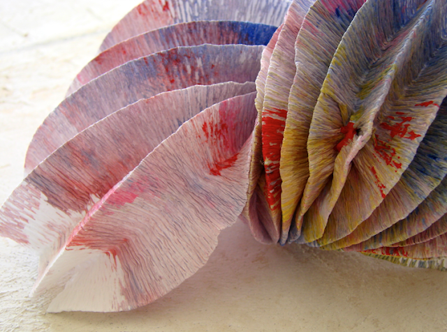 design ecologico: lampade a led di carta in stile origami