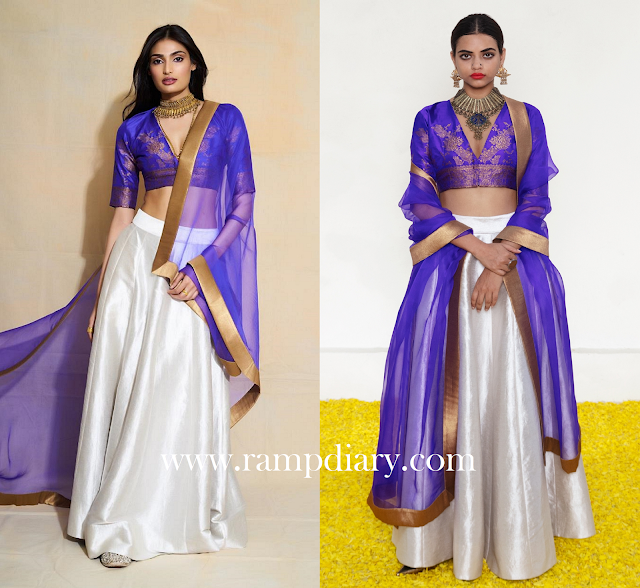 Athiya Shetty in Payal Khanwala and Fizzy Goblet