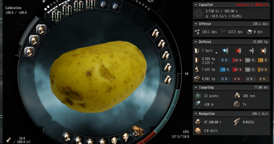 Diaries of a Space Noob: Day 131 : Attack of the Space Potato!