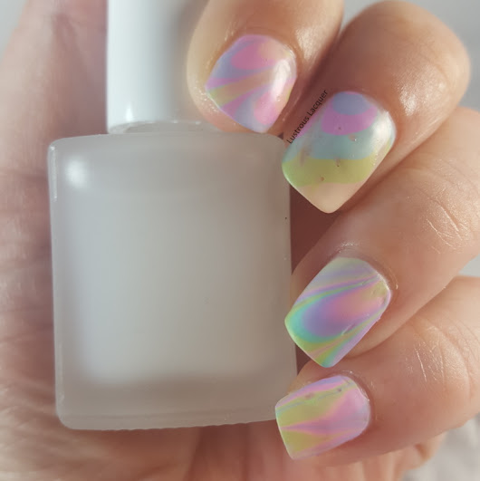 Pastel Watermarble with Sinful Colors