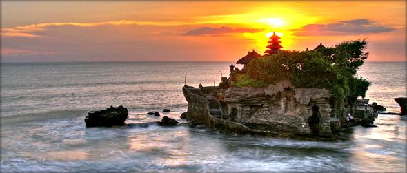 Pura Tanah Lot Bali Kuliner Wisata