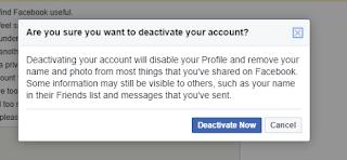 Facebook Se id ya deactivate Kaise Kare