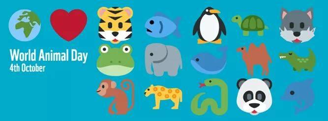 Resultado de imagen para WORLD ANIMAL DAY OCT 4TH