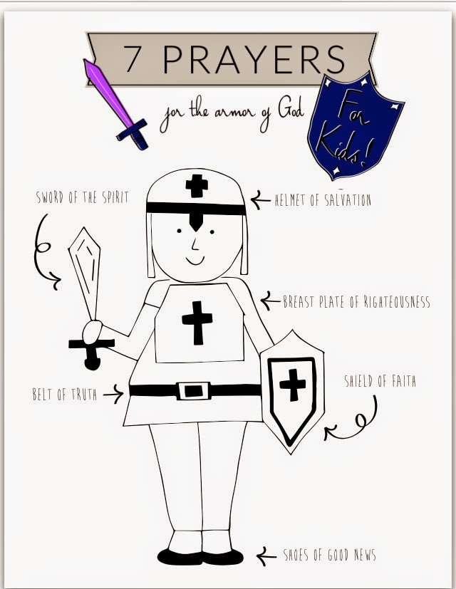 12 Prayers for the Armor of God — Thrive Moms
