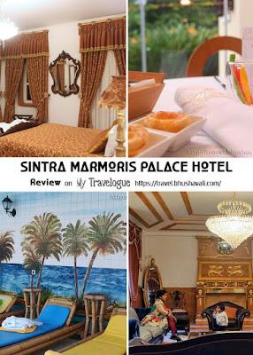 Historic Luxury hotel Sintra Marmoris Palace