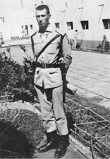 Tauler, de policía (archivo personal de M. Jorques)