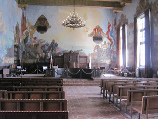 Painted Court Room.