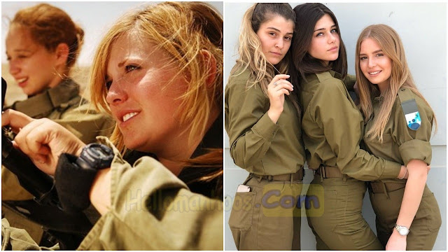 11 Most Attractive Female Armed Forces in the World 2020-2021