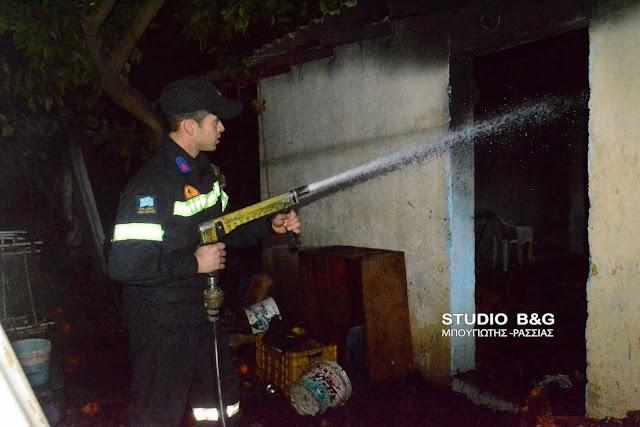 Πυρκαγιά σε σπίτι στο κέντρο του Άργους