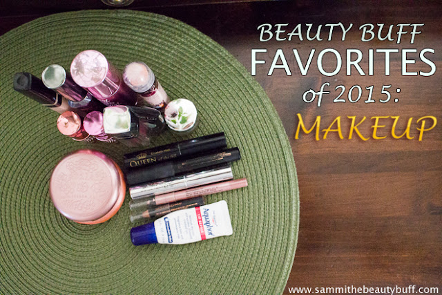 Beauty Buff Favorites of 2015: Makeup | Sammi the Beauty Buff