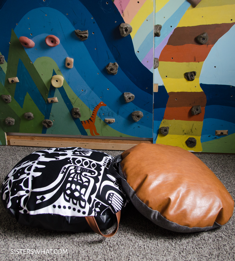 how to make a kid floor pilow