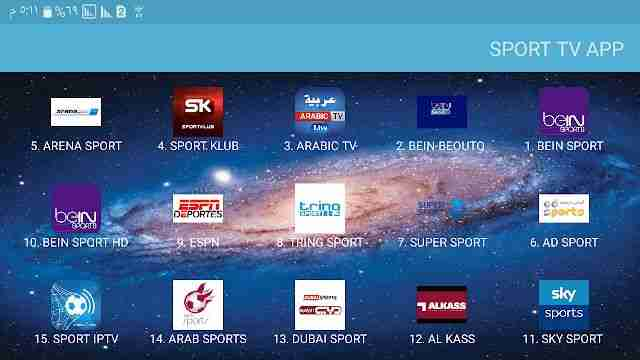 sport tv app