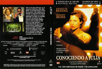 Carátula dvd: Conociendo a Julia (2004)