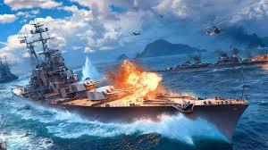 تحميل لعبة حرب السفن World of Warships للكمبيوتر والاندرويد مجانا