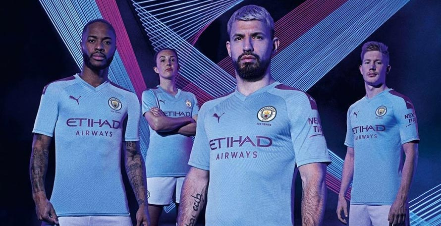 timeless design 83a50 1672b Manchester City 19-20 Home Kit Released - Footy Headlines