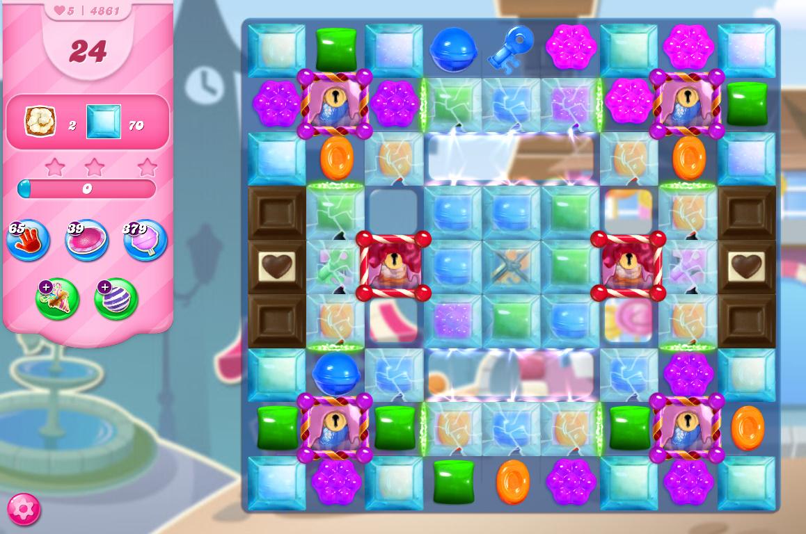 Candy Crush Saga level 4861