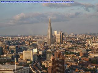Vistas de la Torre Shard desde el London Eye