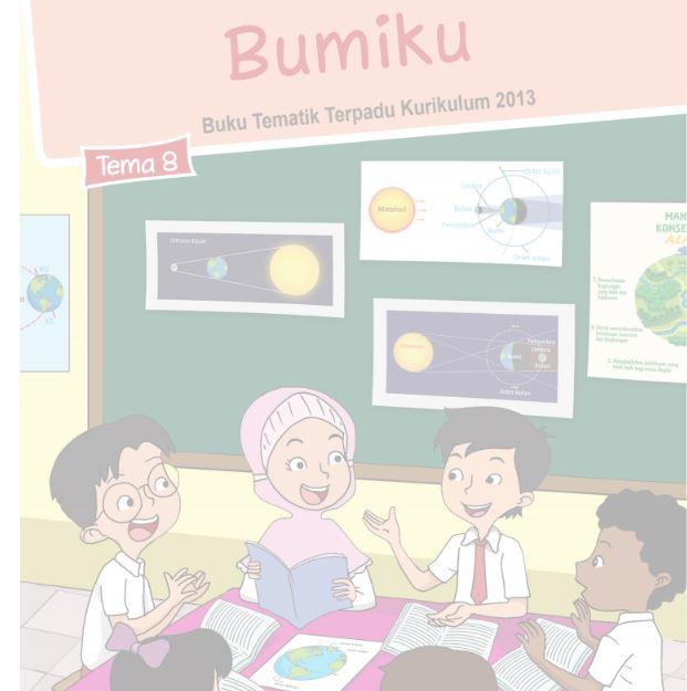 Buku Siswa Kelas 6 SD/MI Tema 8: Bumiku