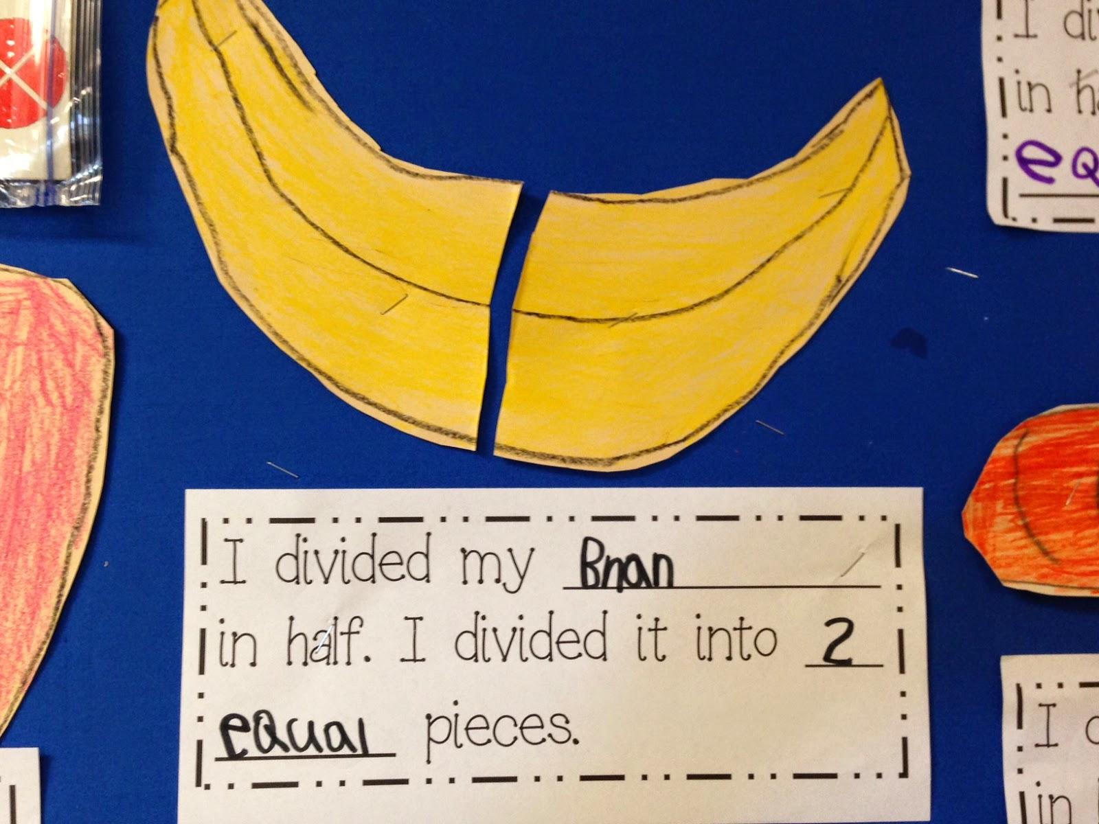 Chalk Talk A Kindergarten Blog Eating Fractions