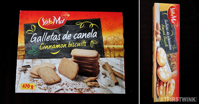 Lidl supermarket sol & mar cinnamon almond biscuits