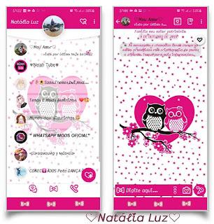 Owl Caupal Theme For YOWhatsApp & Fouad WhatsApp By Natalia Luz