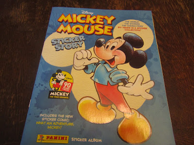 Panini Mickey Mouse Sticker Story