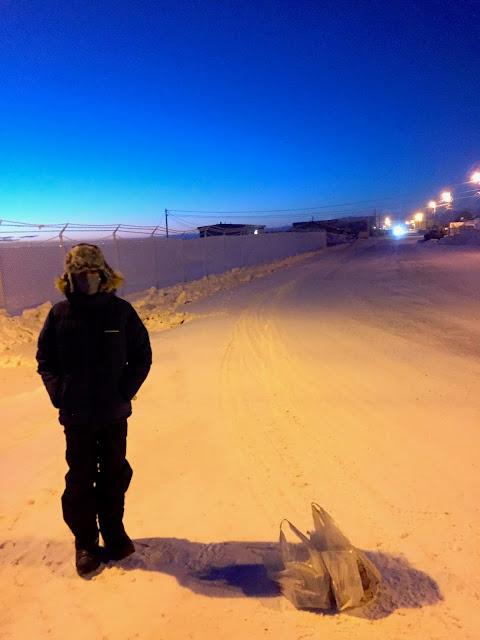 Kogiak St. - Pisokak St., Barrow, Alaska (C) 2020 Supratim Sanyal