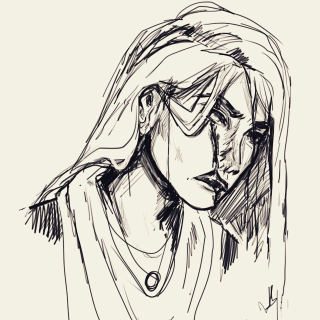 hester shaw sketch