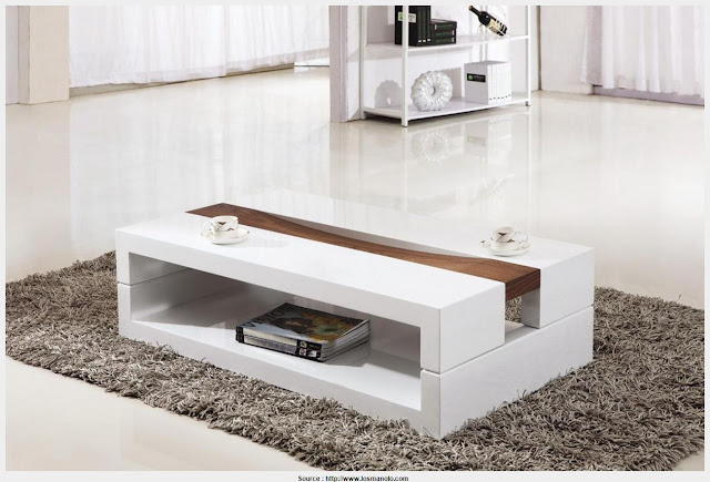 Fantastic White Coffee Tables Wall Picture