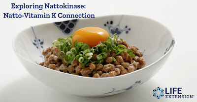 Nattokinase is an enzyme that occurs in a Japanese fermented soy food known as natto