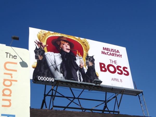 The Boss film billboard