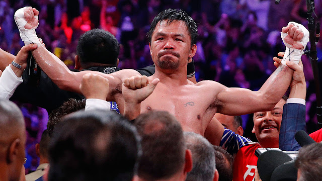 Mony Pacquiao beats Keith Thurman