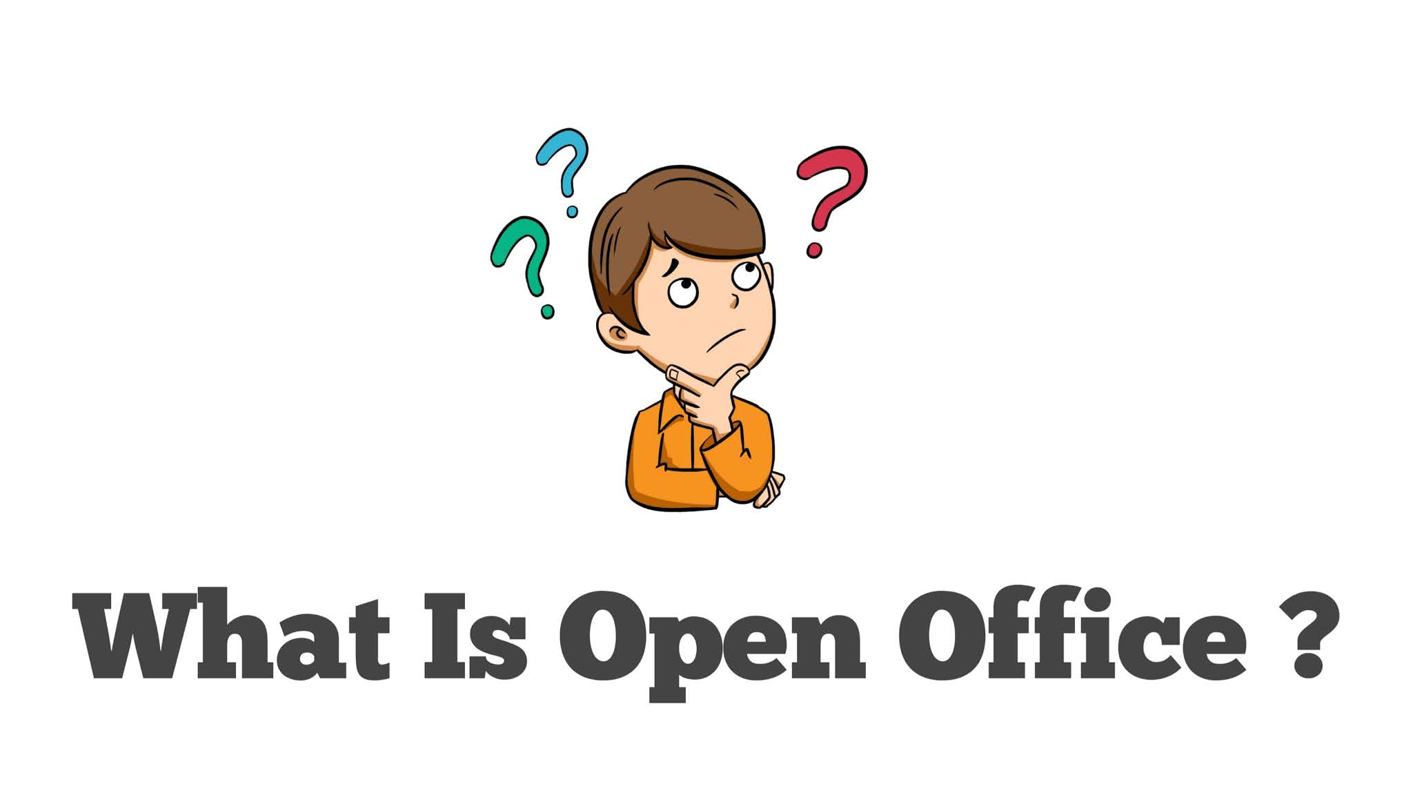 What is open office