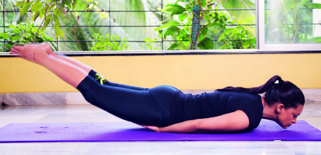 Back pain relieving yoga