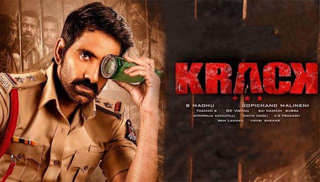 Krack Movie leaked by Tamilrockers to Watch Krack online or Krack Download Full HD Movie: eAskme