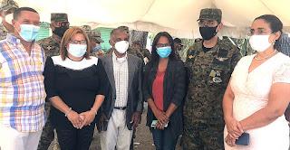Autoridades de Azua trabajan sin descanso en Jornada de Vacunación contra Covid-19