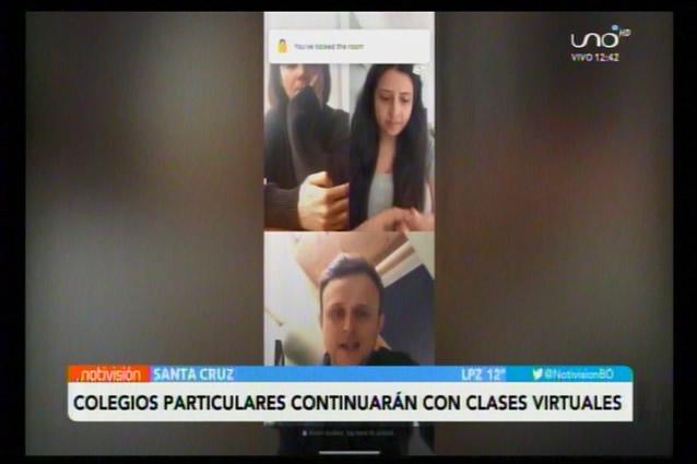 Colegios particulares continuarán pasando clases virtuales hasta diciembre