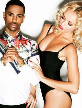 US rapper, Big Sean takes risque photos with NUDE model in Flaunt magazine (LOOK)