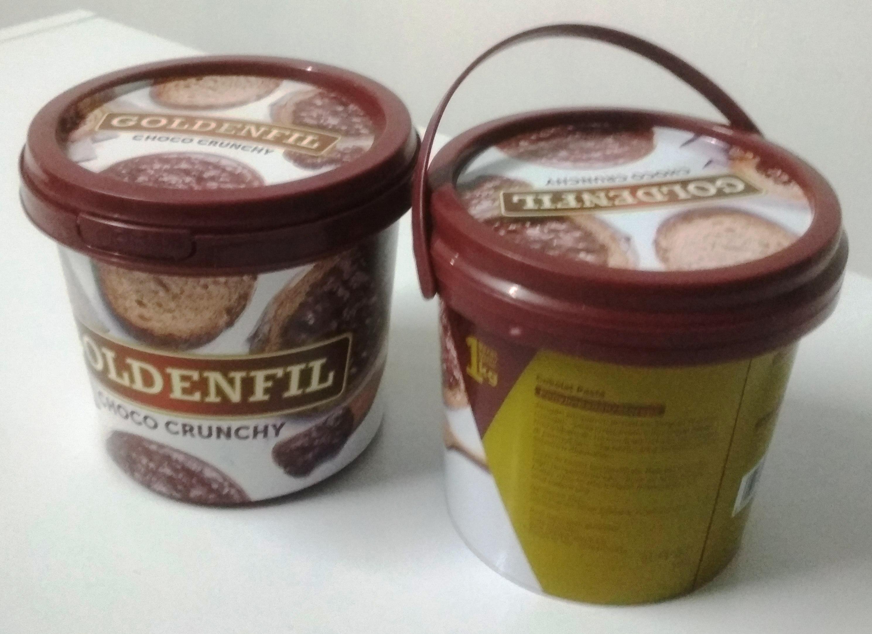 Selai Choco Crunch Goldenfil  1KG