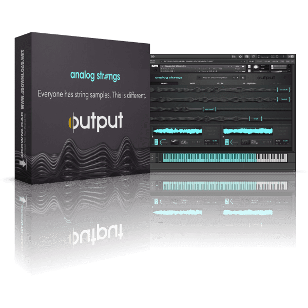 Output Analog Strings v1.0.1 KONTAKT Library