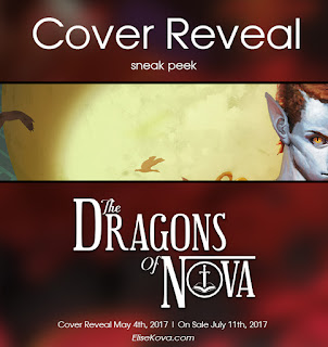 The Dragons of Nova Cover Reveal sneak peek