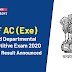 CISF AC (Exe) Limited Departmental Competitive Exam 2020: Written Result Announced