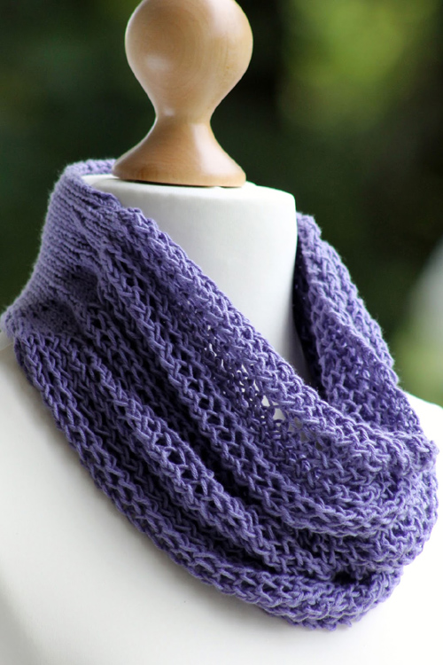 Divine Drape Cowl - Free Knitting Pattern