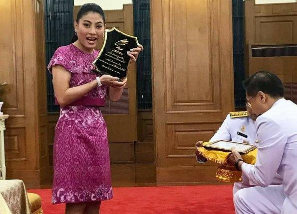 Princess Sirivannavari Nariratana dedicated her SEA Games silver medal to the late King Bhumibol Adulyadej