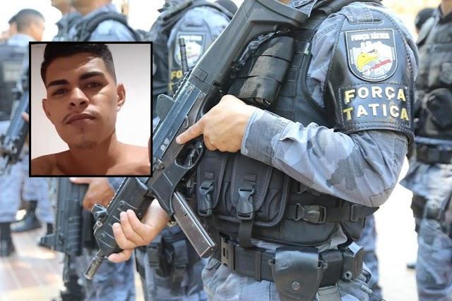 Jovem de 21 anos morre em confronto com a Força Tática em 'boca de fumo'